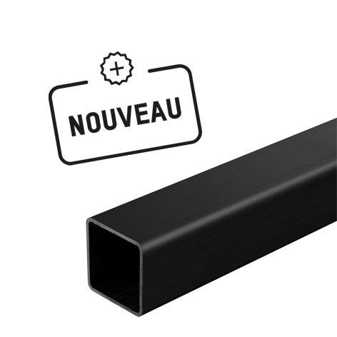 tube acier carré noir 8'
