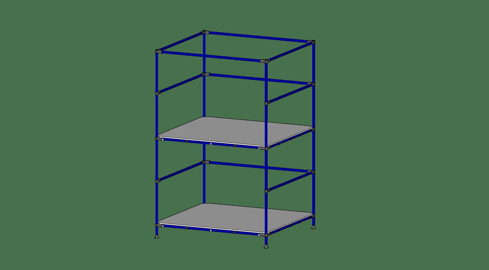 Foam Box Rack