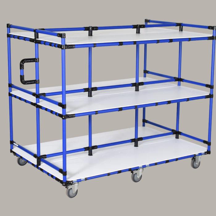hd-lb16-three-shelf-aerospace-component-supermarket-cart