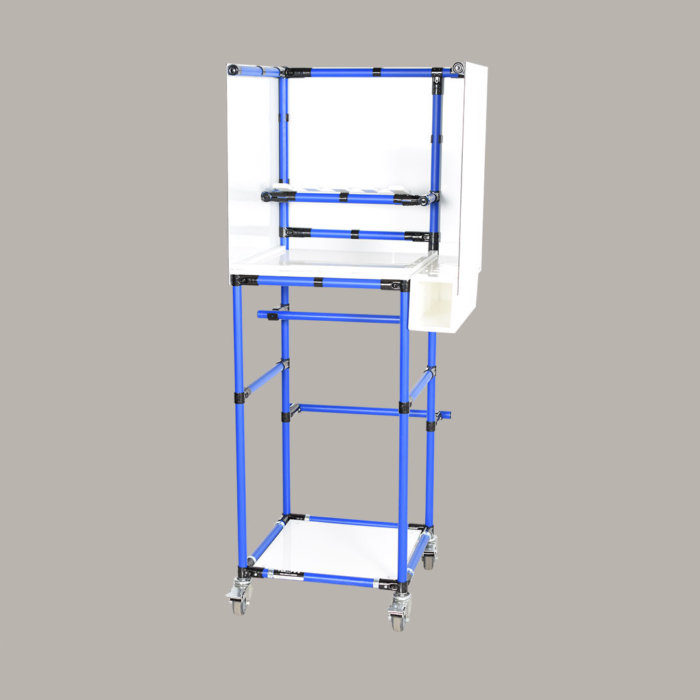 ba-ja1610-painting-workstation-with-backsplah-protection