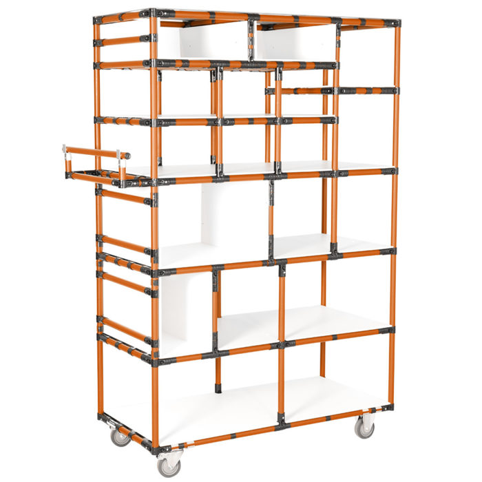 Shelving with added value
