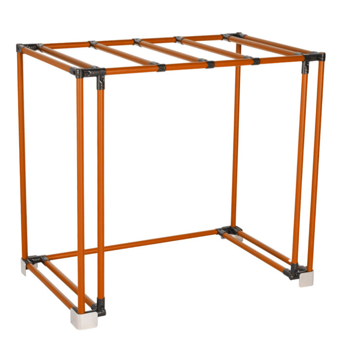 Adaptable racks to fit product changes