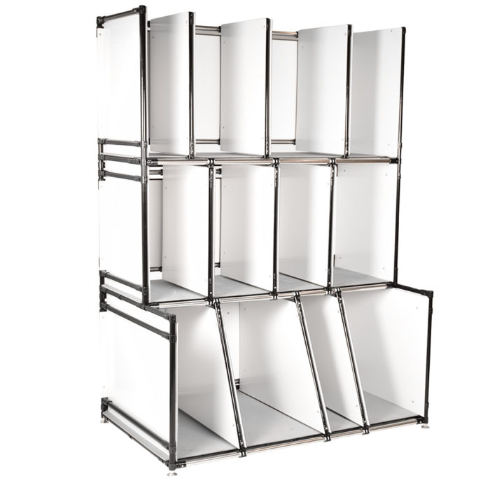WIP racks to reduce defects