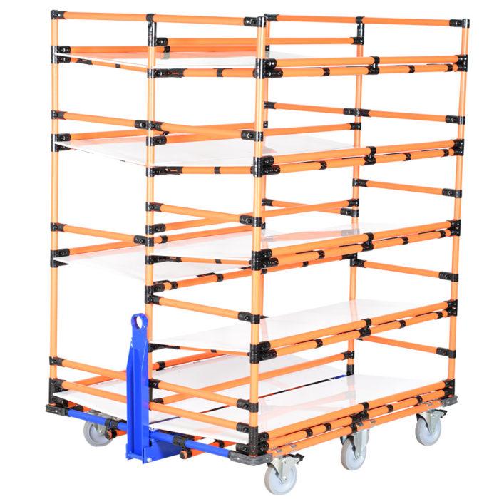 Tuggable carts