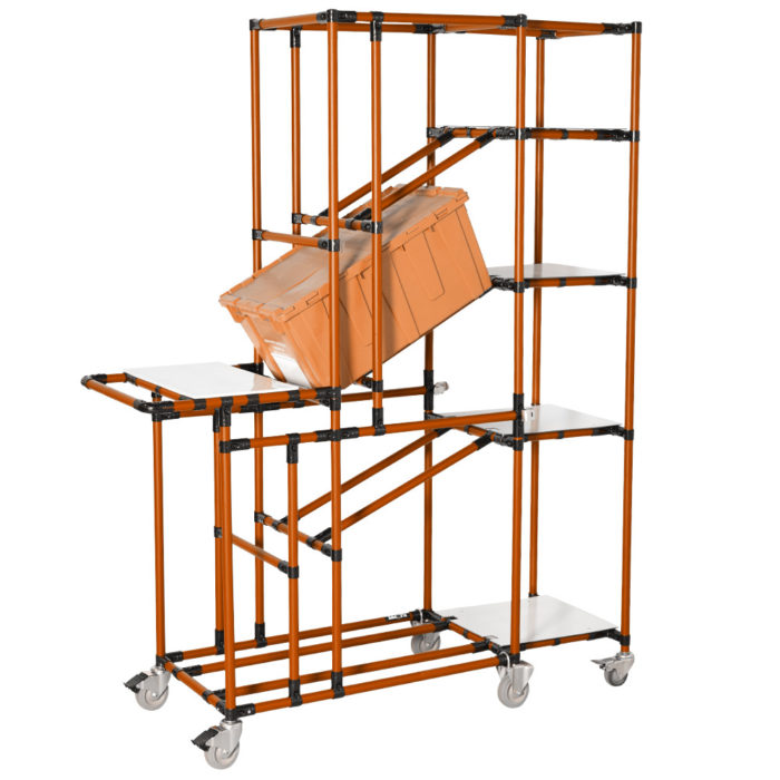 Warehouse picking carts