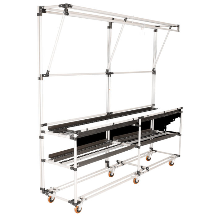 One-piece flow conveyor stations for Lean Manufacturing